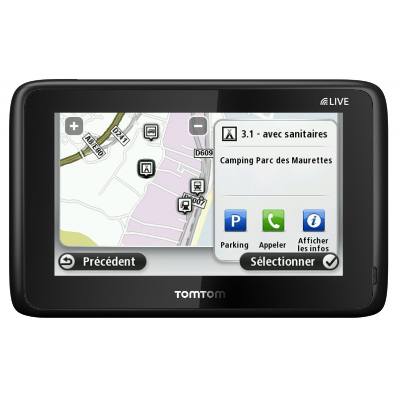 gps camping car tomtom go live notre test et notre avis. Black Bedroom Furniture Sets. Home Design Ideas