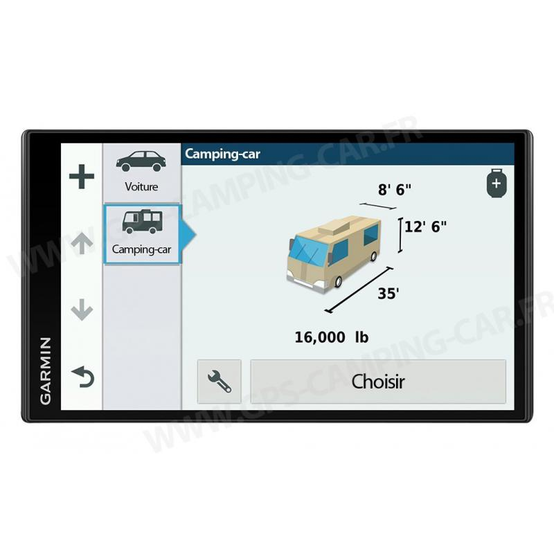 avis garmin 770lmt d gps camping car notre test. Black Bedroom Furniture Sets. Home Design Ideas