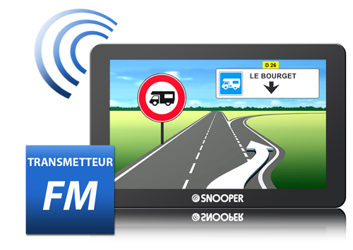 snooper db8500cc gps camping car avec tnt int gr e et transmetteur fm. Black Bedroom Furniture Sets. Home Design Ideas